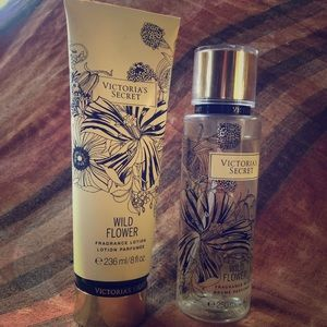 Wild flower fragrance lotion and spray